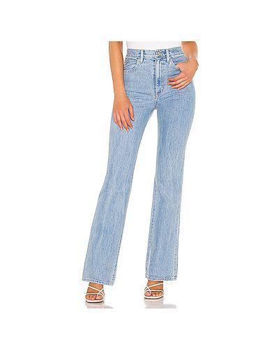 Хлопковые джинсы на молнии Slvrlake