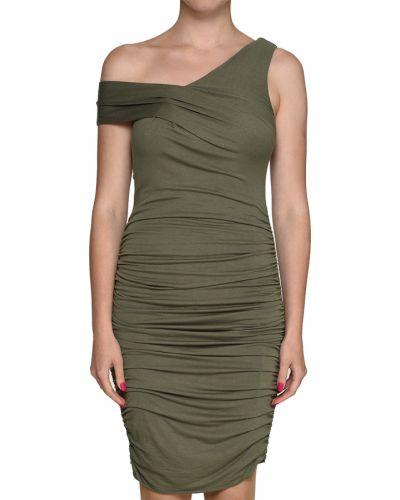 Платье из спандекса - зеленое Kendall + Kylie