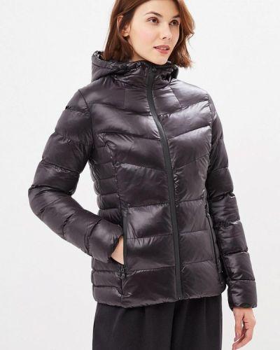 Утепленная куртка демисезонная черная Adrixx