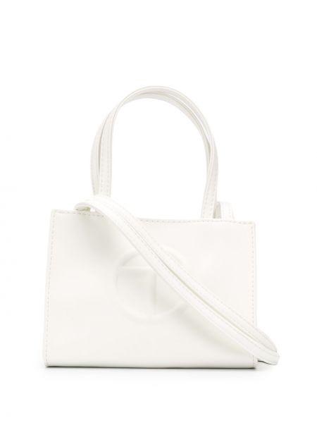 Biała torebka skórzana Telfar