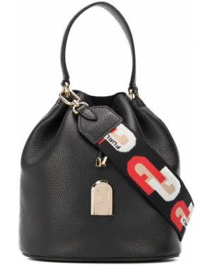 Кожаная сумка сумка-тоут на плечо Furla