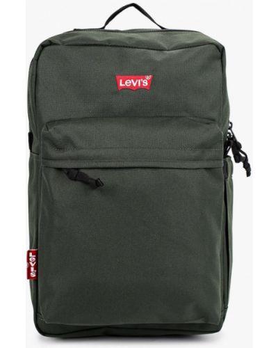 Текстильный зеленый городской рюкзак Levi's®