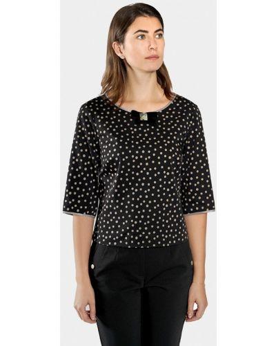 Блузка с длинным рукавом польская черная Vera Moni