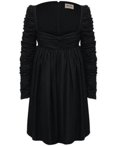 Хлопковое платье с подкладкой Khaite