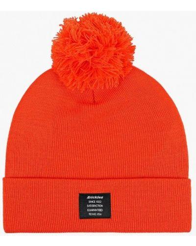 Оранжевая шапка осенняя Dickies