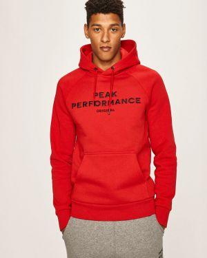 Bluza z kapturem z kapturem z raglanowymi rękawami Peak Performance