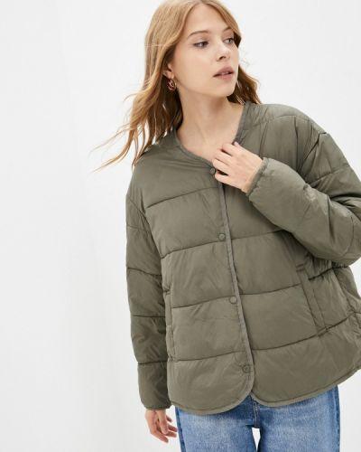 Утепленная куртка хаки Incity