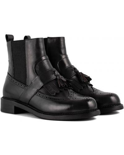 Ботинки - черные Djovannia