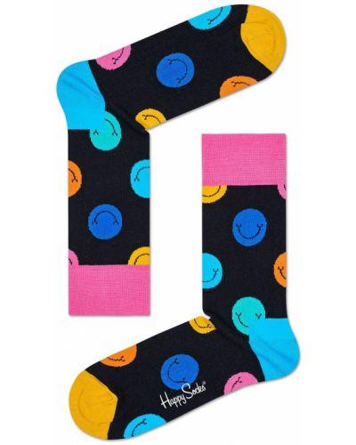 Носки с узором темно-синий Happy Socks