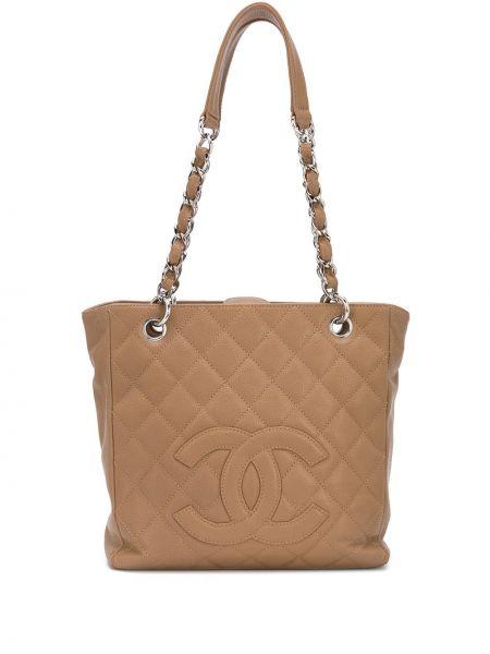 Сумка шоппер маленькая кожаная Chanel Pre-owned
