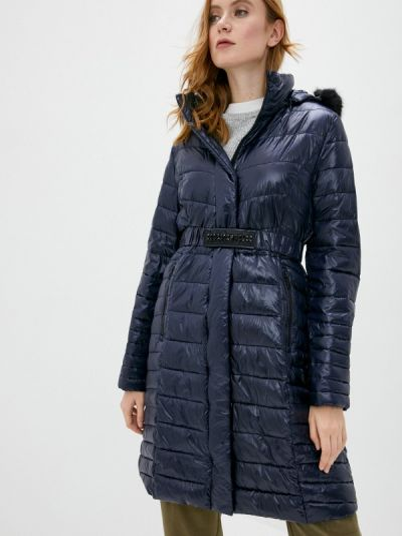 Теплая синяя утепленная куртка Gerry Weber