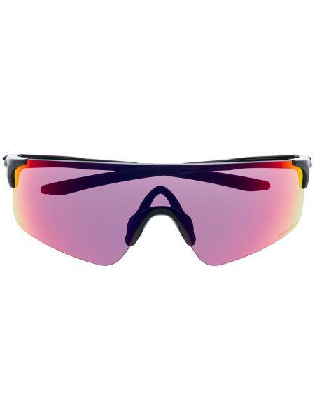 Czarne okulary z printem Oakley