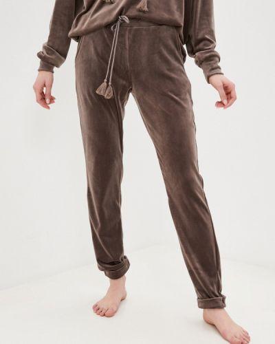 Домашние коричневые брюки Hunkemoller