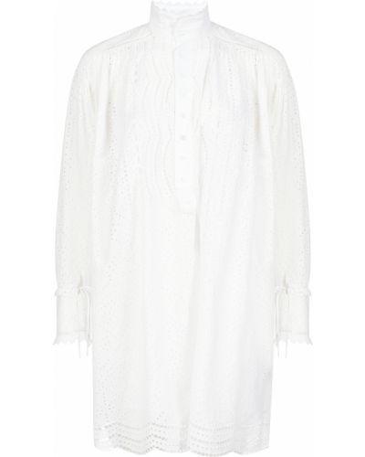 Хлопковое платье - белое Zadig & Voltaire