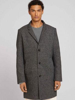 Джинсовое пальто - серое Tom Tailor Denim