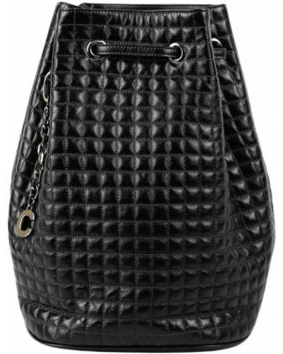 Czarna torebka skórzana Céline