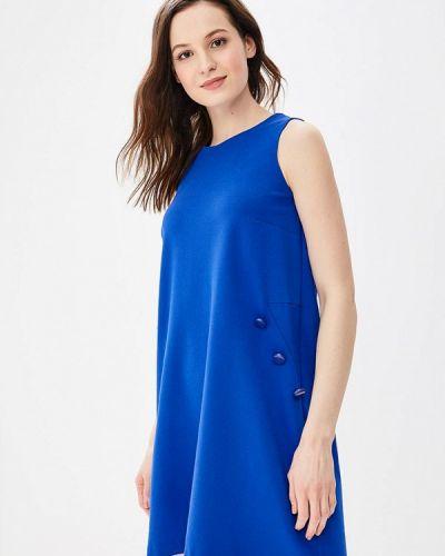 Платье весеннее синее Rodier