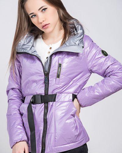 Куртка из полиэстера - фиолетовая Grace
