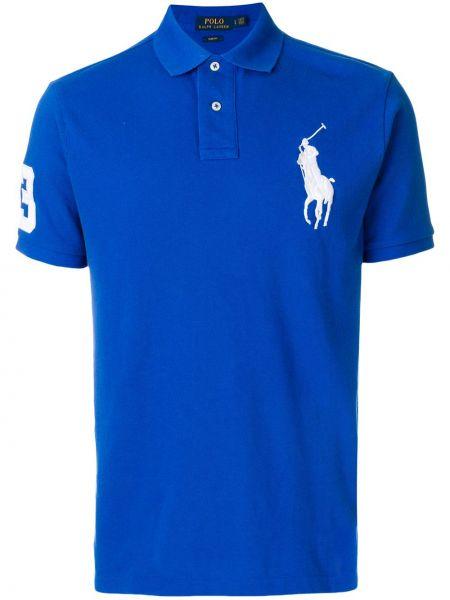 Koszula krótkie z krótkim rękawem klasyczna z kołnierzem Polo Ralph Lauren