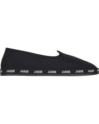 Слипоны черные Christian Dior