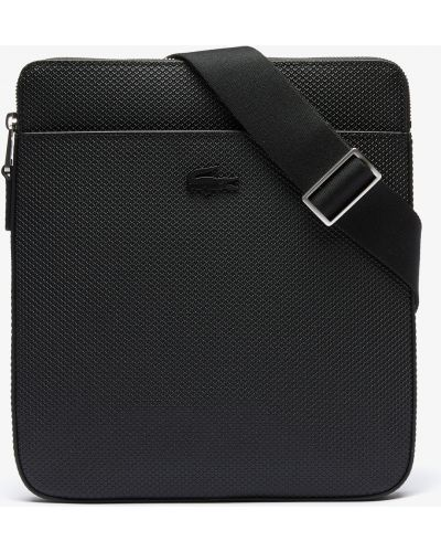 Кожаная сумка Lacoste