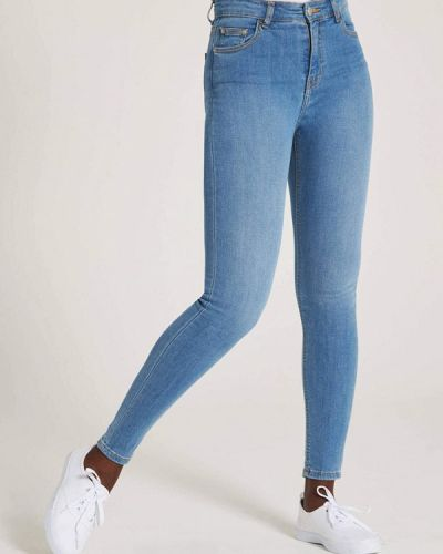 Зауженные джинсы - голубые Terranova
