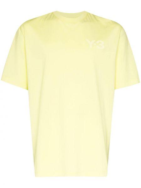 Koszula krótkie z krótkim rękawem z logo prosto Y-3