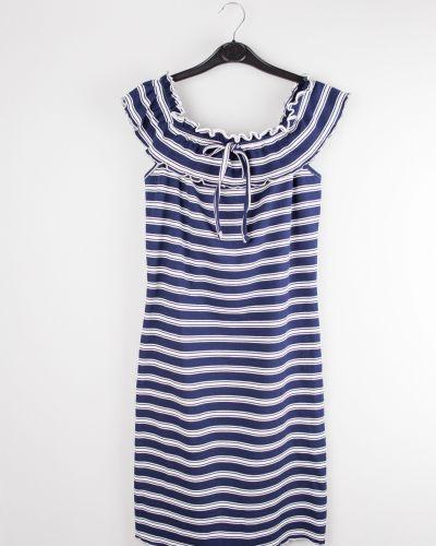 Синее хлопковое платье Jennyfer