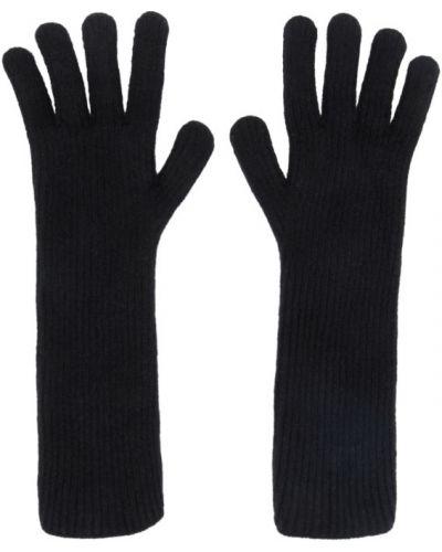 Rękawiczki wełniany czarny Julius