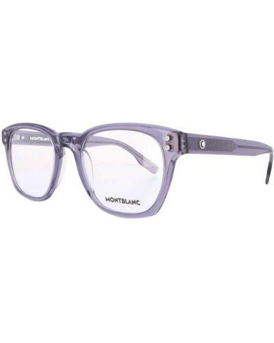 Fioletowe okulary Montblanc
