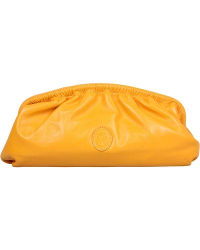 Żółta kopertówka Trussardi