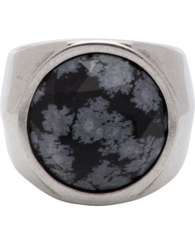 Otwarty czarny pierścień Isabel Marant