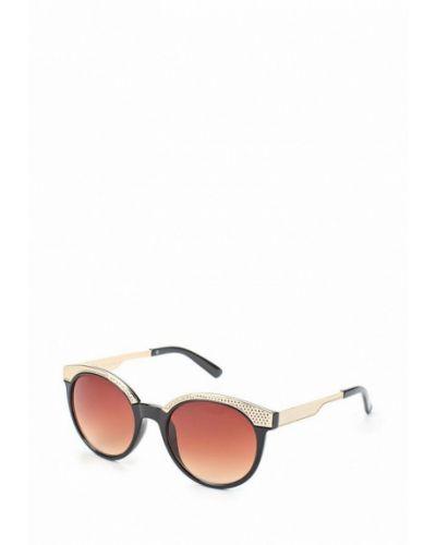 Коричневые солнцезащитные очки Fabretti