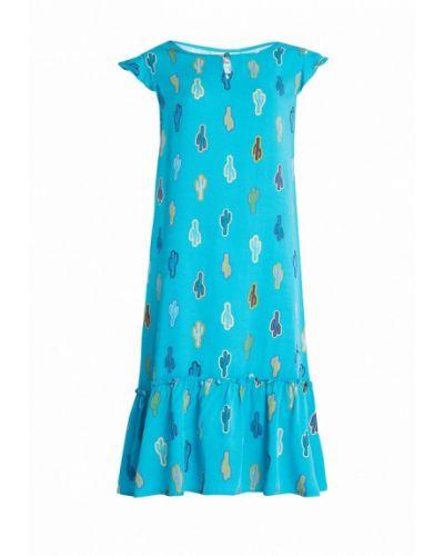 Голубое платье Finn Flare