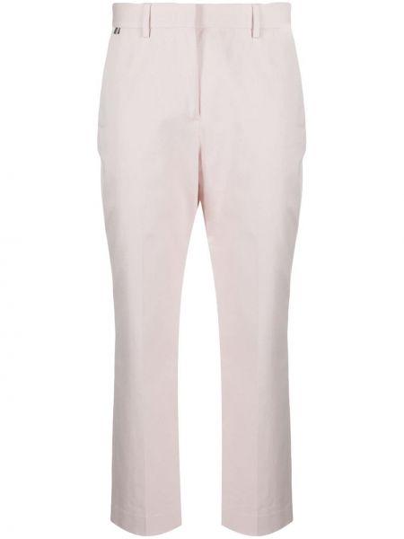 Укороченные брюки - белые Paul Smith