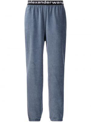 Синие брюки из спандекса Alexanderwang.t