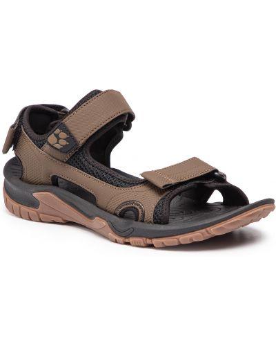 Sandały - brązowe Jack Wolfskin