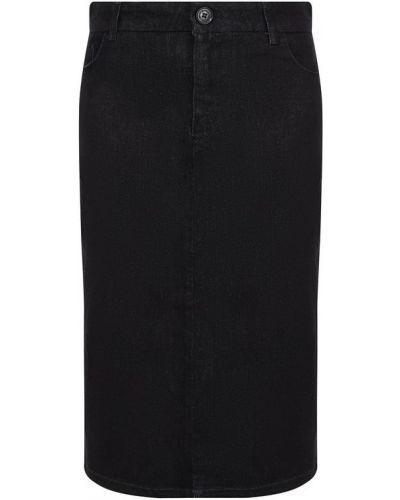 Юбка карандаш джинсовая хлопковая Emporio Armani