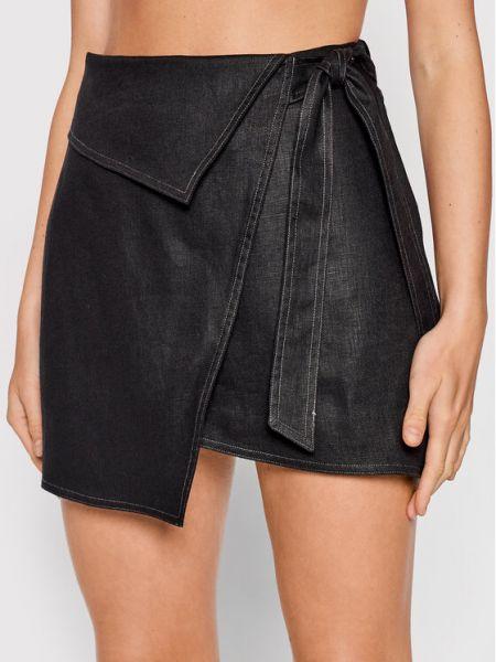Czarna spódniczka mini Ixiah