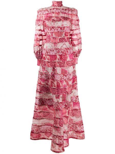 Sukienka z kołnierzem z mankietami Zimmermann