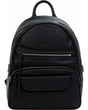 Кожаный рюкзак на молнии классический Lancaster