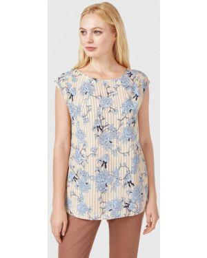 Блузка весенний бежевый Pompa