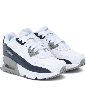 Sneakersy skórzane Nike Kids