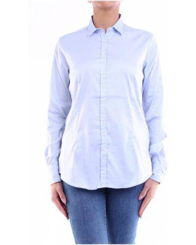 Niebieska klasyczna koszula Aglini