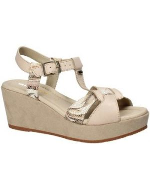 Beżowe sandały Valleverde