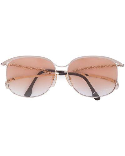 Солнцезащитные очки металлические Paco Rabanne Pre-owned