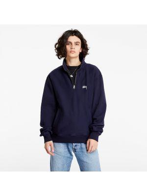 Niebieski pulower Stussy