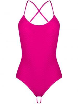 Пляжный купальник - розовый Fisico