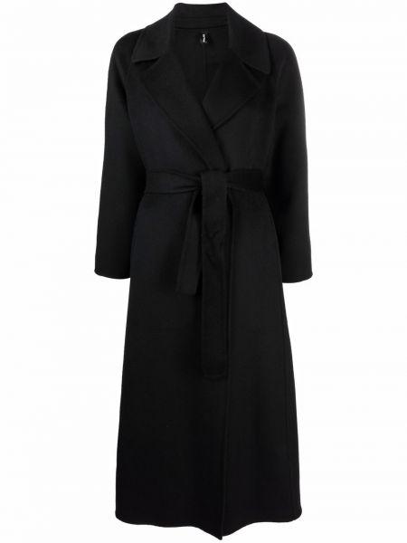 Черное пальто из полиэстера PaltÒ