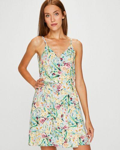 Платье мини с запахом из вискозы Answear